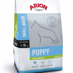 Arion Original Puppy Small Breed cu Pui si Orez