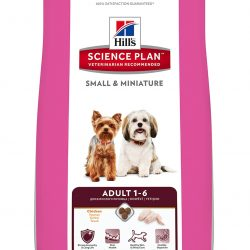 Hills SP Canine Adult Small and Mini Chicken and Turkey 1.5 kg