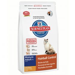 Hill's SP Feline Senior Hairball 1.5 Kg