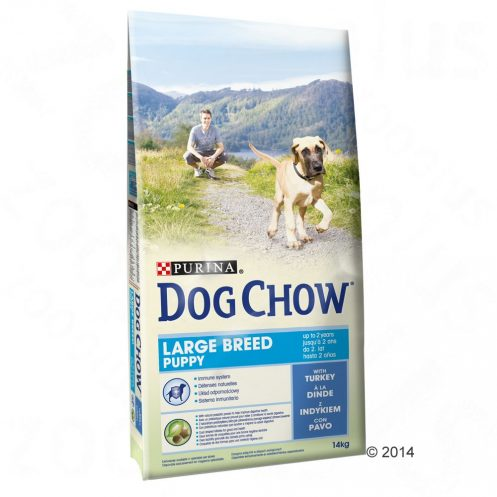 14kg Large Breed Purina Dog Chow Hrană uscată câini - Turkey