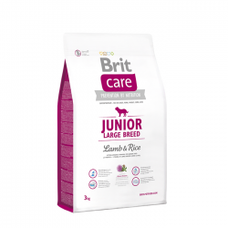 Brit Care Junior Large Breed Miel si Orez 3 kg