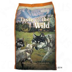 13kg High Prairie Puppy Taste of the Wild Hran? uscat? câini