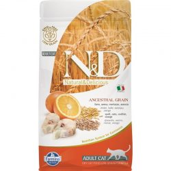 N&D Cat Low Grain CodFish and Orange