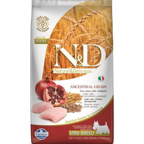 N&D Low Grain Chicken and Pomegranate Adult Mini