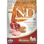 N&D Low Grain Chicken and Pomegranate Adult Mini, 7 kg PM