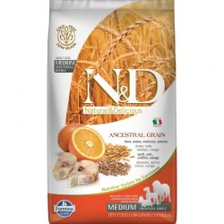 N&D Low Grain Dog CodFish and Orange Adult Medium