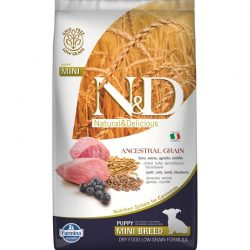 N&D Low Grain Dog Lamb and Blueberry Puppy Mini