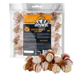 Pet's Dessert Knoted Bone & Chicken