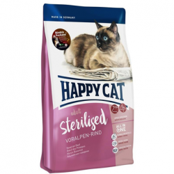 HAPPY CAT Supreme Sterilised cu Vită 1