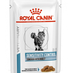 ROYAL CANIN Cat Sensitivity pui și orez 85 g