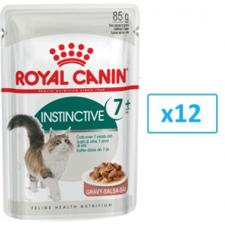 ROYAL CANIN Instinctive +7 în sos 12x85 g