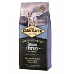 Carnilove Salmon and Turkey Puppies 12 kg